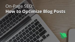 On-Page SEO: How to Optimize Blog Posts