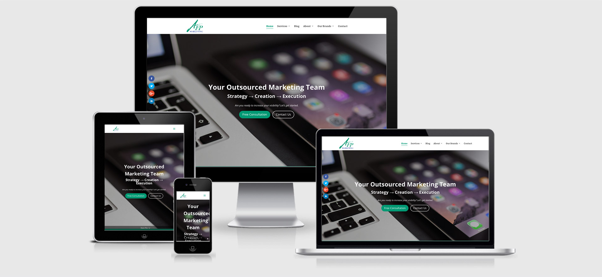 AFP Marketing responsive web design