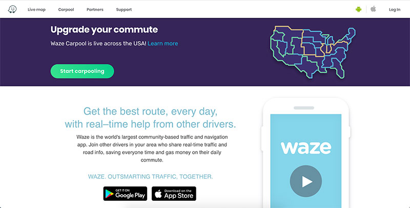 waze copywriting formula example